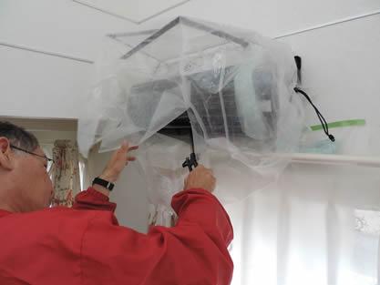エアコン-作業手順追加 シロッコファンの洗浄