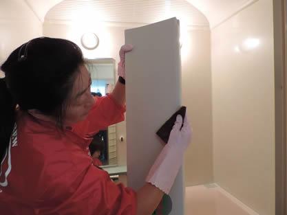 バスルーム-作業手順追加 湯垢をしっかり洗浄
